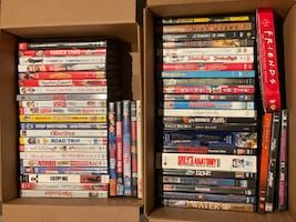 MINT Various DVD Movies Lot (52)