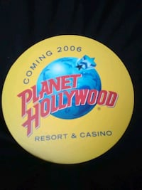 Collectable Planet Hollywood sign Las Vegas