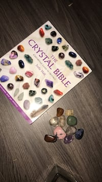 Crystal bible and crystals  Winnipeg, R2G 0S8