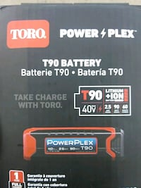Toro Powerplex T90 Battery London, N6E 1M2