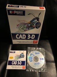 CAD 3-D by Expert for Windows 95 & Windows 3.1 Sterling, 20164