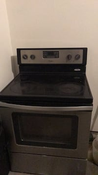 Black and gray induction range oven Northfield, 44067
