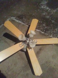 brown 5-bladed ceiling fan Georgina, L4P 2W8