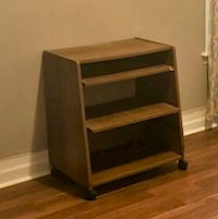 Stand with pull-out drawers