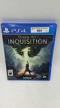 PS4 Dragon Age Inquisition Timberlea