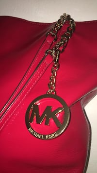 Red leather Michael Kors purse Falls Church, 22041