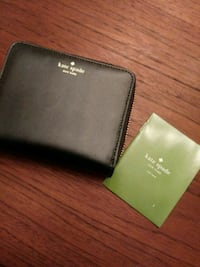 black Kate Spade leather wallet Alexandria, 22309