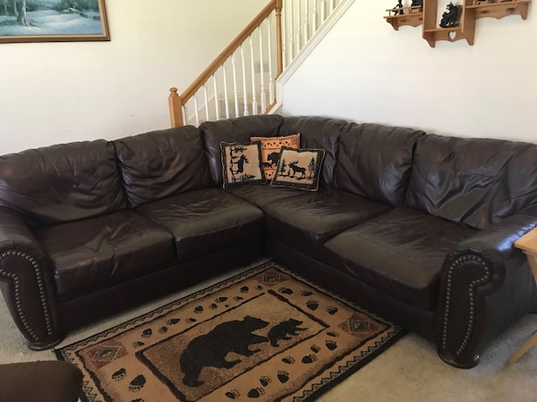 Oversized sectional sofa / couch