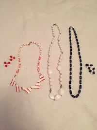 Plastic earrings and necklaces (.50 cents each) Ottawa, K1K