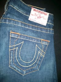 blue True Religion denim bottoms Toronto, M4C