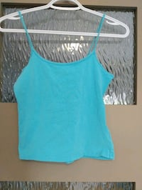 Blue tank top size small