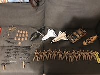 Army men and accessories Stafford, 22554