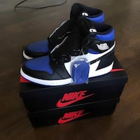 Jordan Royals royal blue nike brand new in box from may 2020 release