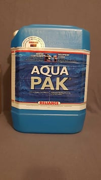 AQUA PAK WATER CONTAINER. 20L. NEW