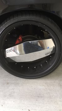 22 inch rims with 5th rim and tire  Port Allen, 70767