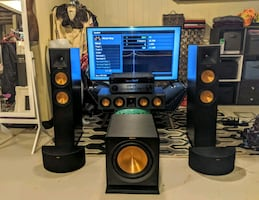 OBO Klipsch 5.1/Yamaha Aventage RX-A770 Full Entertainment Theater
