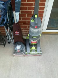 black and gray Bissell upright vacuum cleaner Roanoke, 24012