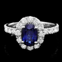 Fabulous Rock Star Sapphire and Diamond ring Annapolis Junction, 20701