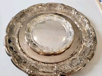 Silver plated serving plates  Mississauga