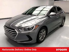 2018 Hyundai Elantra Machine Gray sedan