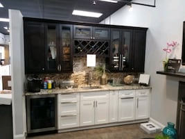Display SALE! cabinets, granite etc.