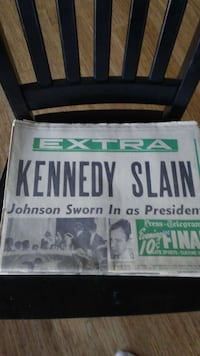 KENNEDY ASSINATION NEWSPAPERS Tumwater, 98512