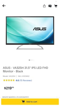 Asus hdmi - xbox ps4 pc 31 inch