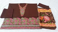 Embroidered Lawn Suit with Chiffon Dupatta-DKB 11379 km