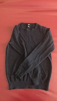 black scoop neck long sleeve shirt Toronto, M9R