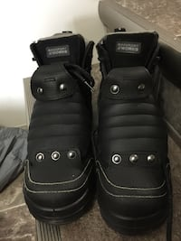 Pair of black leather boots used 3 times, still looks new ....$100 obo... can meet in red deer size 8 or 8.5 will fit Red Deer, T4P 0H5
