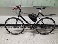 black rigid mountain bike
