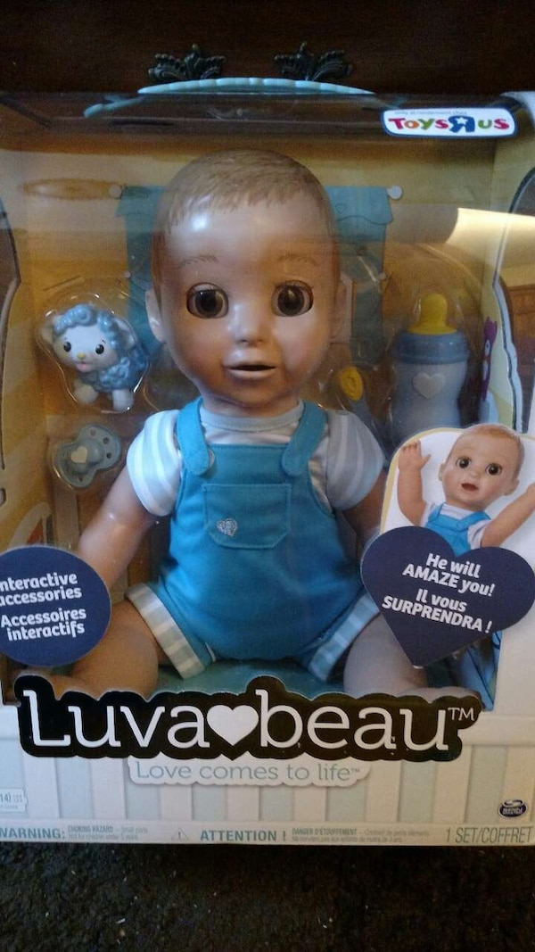 Used Luvabella Baby Boy Toys R Us Exclusive Brand New A For Sale In