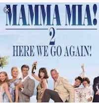 Mamma Mia Premiere Tickets July 18, 2018 Admission x2 Calgary, T2E 7A3