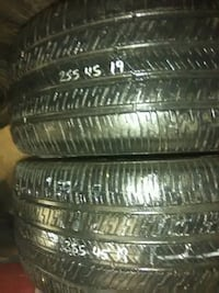 Pair 255/45/19s--$40, pair  GY. EAGLE Shallowater, 79363