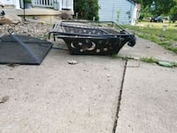black and brown utility trailer Kent, 44240