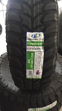 4 new tire mont and balance 31x10.50 15 Antioch, 94509