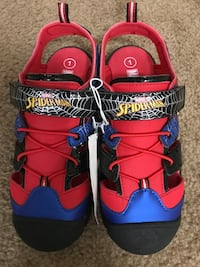 SPIDERMAN SHOES!