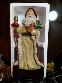 Large vintage musical Santa in original box Edmonton, T5S 2B4