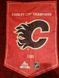 Calgary Flames Stanley Cup Banner Oshawa, L1K 2X9
