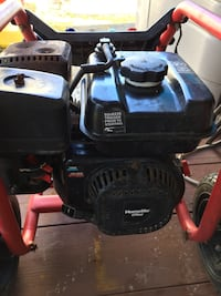 Power pressure washer.   without the pump the pump is defective