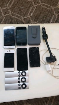 iPhone, iPods, cellphone