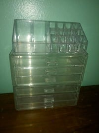 clear plastic 3-drawer chest New Orleans, 70131