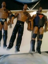 The Rock action figures