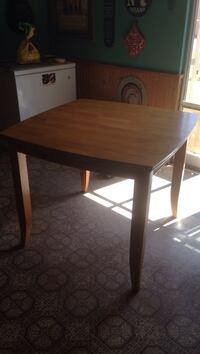 square brown wooden table Las Cruces, 88011