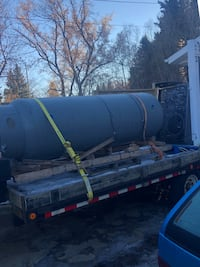 500 gallon tank 3/16 to 1/4 wall thickness