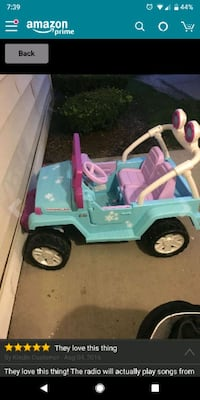 toddler's teal and pink ride on toy car Annandale, 22003