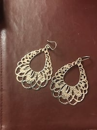 Sterling silver earrings Spring Hill, 34608