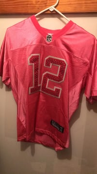 Red and black nike jersey shirt Montgomery, 17752