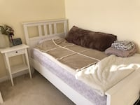 Twin bed frame +nightstand Aldie, 20105