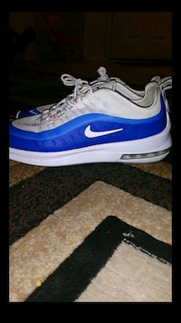 pair of blue-and-white Nike basketball shoes Tucson, 85712
